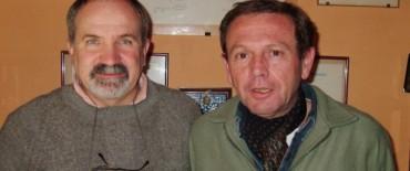 Alvear: el Director de Producción local se reunió con el Ingeniero Oscar Marco del INTA  Saladillo