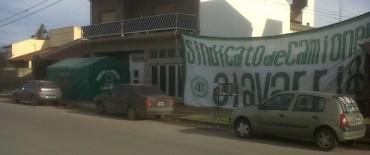 El Sindicato de Choferes de Camiones comienza con las medidas de protesta