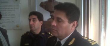 El nuevo jefe departamental de Policía desarrolló varias actividades en Olavarría