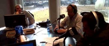 """""""Pasión Deportiva"""" de Radio Olavarría en los estudios de ESPN"""