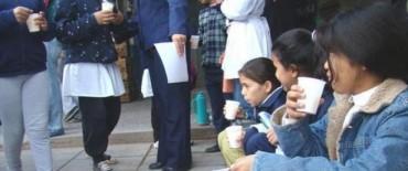 Protesta tambera: Repartirán leche en las escuelas
