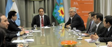 """Scioli presentó el programa de viviendas """"Buenos Aires hogar"""""""