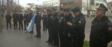 Acto en homenaje al Policía Federal caído en cumplimiento del deber