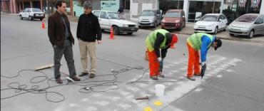 El Gobierno Municipal avanza con obra de infraestructura vial