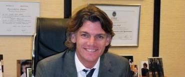 El Vicepresidente del Grupo Banco Provincia, Nicolás Scioli, estuvo Olavarría