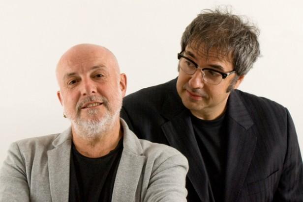 Juan Carlos Baglietto y Lito Vitale en el Teatro Municipal