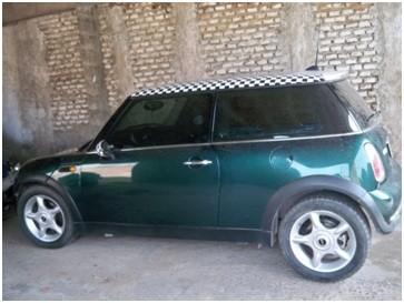 Secuestraron un Mini Cooper con chasis adulterado
