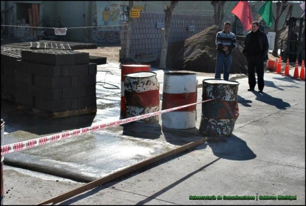 Se iniciaron los trabajos de seguridad vial en la avenida Legourburu