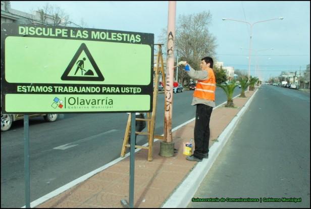 El Gobierno Municipal continúa con los trabajos de mantenimiento y hermoseado de la ciudad