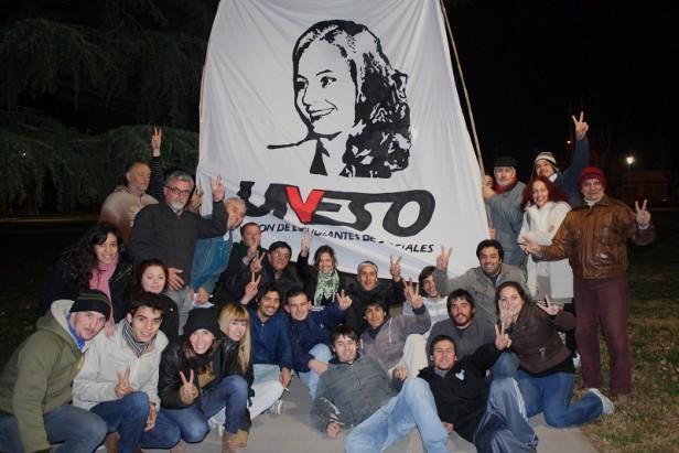 Muchos jóvenes homenajearon a Evita en Olavarría
