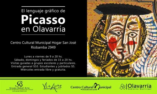 La obra de Pablo Picasso en sus múltiples facetas se expondrá en Olavarría