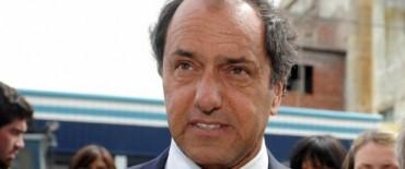 Ahora Scioli busca adherir a la ley de Emergencia de la Nación