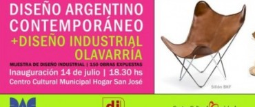 El Diseño Argentino Contemporáneo se muestra en Olavarría