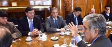 El Intendente José Eseverri se reunió con Julio De Vido