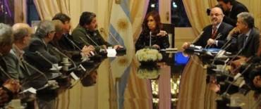 Cristina reclamó unidad
