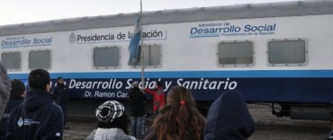 La Madrid: Tren de Desarrollo Social y Sanitario