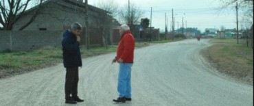 El Gobierno Municipal realiza el mejoramiento de calles no pavimentadas en distintos puntos de la ciudad