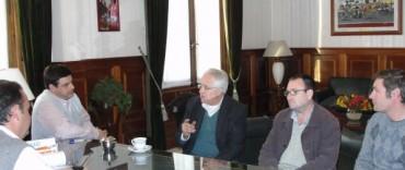 Alvear: el intendente Cellillo recibió al diputado socialista Ricardo Vago