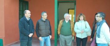 El Intendente Eseverri recorrió las instalaciones donde funcionará el Centro Municipal para la Atención de las Adicciones