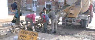 Ayacucho: el municipio continúa  con las obras de asfalto