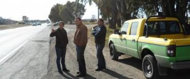 El Gobierno Municipal trabaja en forma conjunta con Vialidad Provincial