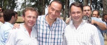 Alvear: visita del Ministro de Asuntos Agrarios de la provincia de Buenos Aires y relanzamiento del Plan Ganadero del Bicentenario
