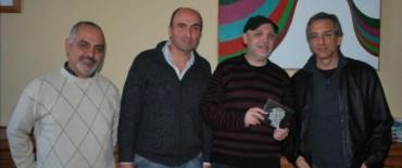 El Intendente Municipal recibió al músico local Claudio Pedreira
