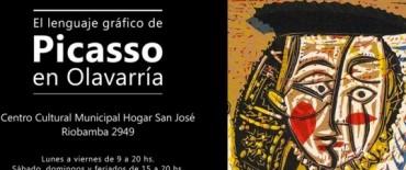 El lenguaje gráfico de Pablo Picasso en Olavarría va tomando forma