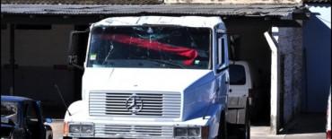 Controles de tránsito:  fue retenido un camión por alcoholemia de su chofer