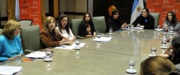 Alvear participó de la primera reunión de referentes distritales del Consejo Provincial de las Mujeres