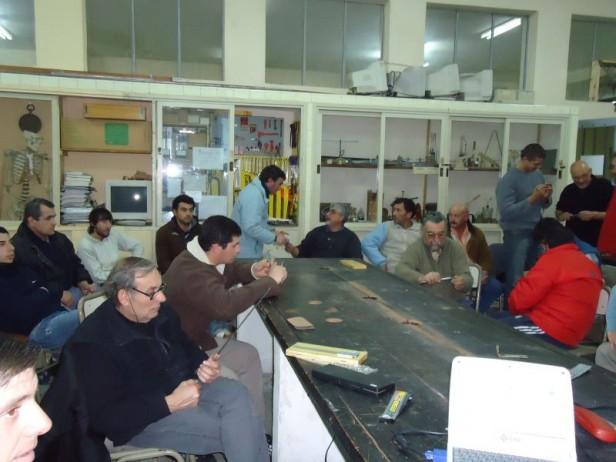 Azul: comenzó con todo éxito el curso de operario Metalmecánico impulsado por el Gobierno Municipal