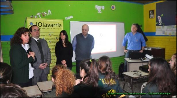 Se iniciaron las capacitaciones en las escuelas en Prevención en Seguridad Vial