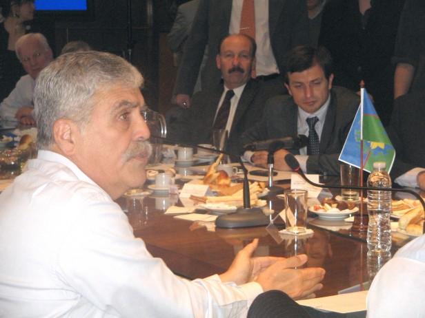 Azul: El intendente Inza presentó el plan de obra pública en el Ministerio de Planificación de la Nación