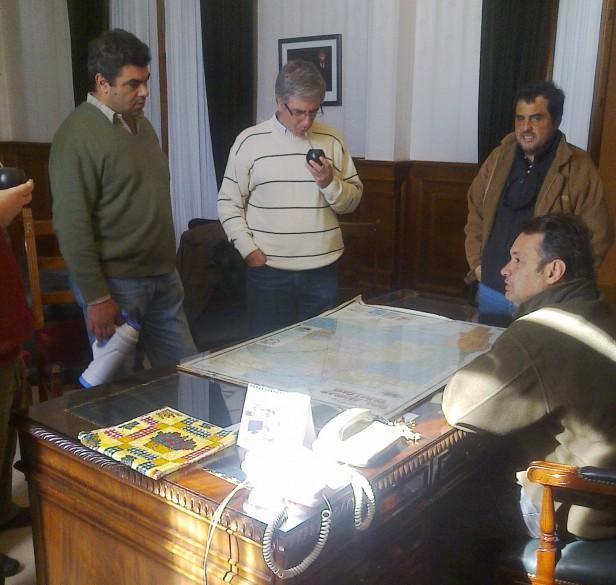 Alvear: El intendente Cellillo recibió la visita de legisladores de la séptima sección