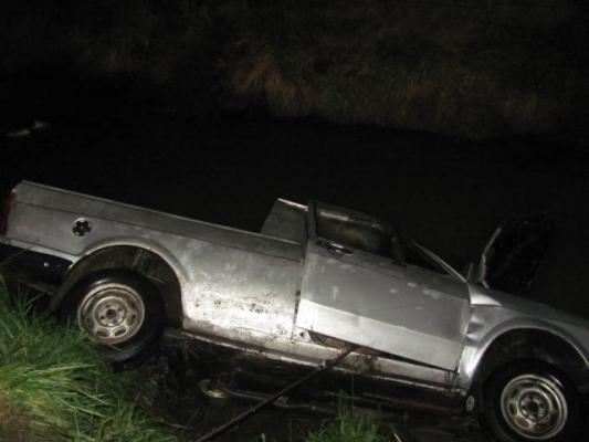 Saladillo: saladillense murió al caer su camioneta a un canal