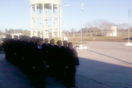 Cadetes del Servicio Penitenciario recorrieron  la Unidad Nº 38