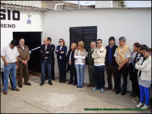 El Club Mariano Moreno y el Municipio inauguraron un espacio multiactivo para adultos mayores