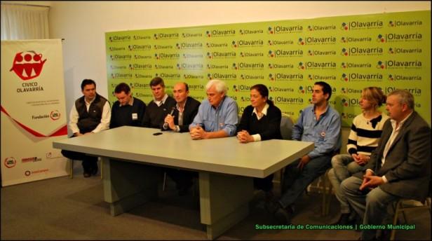 """El Gobierno Municipal y Fundación Loma Negra anunciaron el """"Día de Hacer el Bien"""" 2012"""