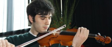 Mozarteum Argentino Filial Olavarría presenta al violinista Xavier Inchausti