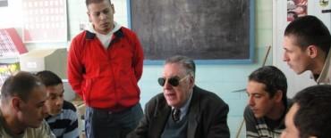 Nueva visita del Director Provincial de Bibliotecas Braille: destacó a Olavarría como referente regional de inclusión