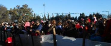 Multitudinaria fiesta del Día del Niño