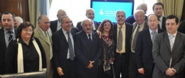 La Madrid: el intendente estuvo con el Ministro de Planificación Federal Julio De Vido