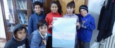 Los chicos del Centro de Día Nº 7 visitaron el Archivo Histórico Municipal