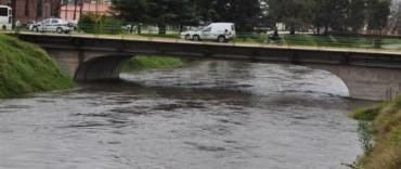 Eseverri se reunió con funcionarios para analizar las obras a realizar luego de la crecida del arroyo Tapalqué