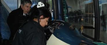Inspecciones en terminales de ómnibus el fin de semana