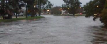 Continúa en baja las aguas del Arroyo Tapalqué: nuevas mediciones