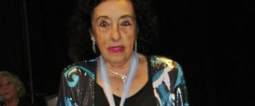 Alvear: Margarita Dimartino de Paoli premiada por la Sociedad de Escritores marplatenses