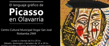 """""""El lenguaje gráfico de Pablo Picasso en Olavarría"""""""