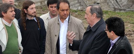 """Scioli se comprometió a """"tomar las medidas necesarias"""""""