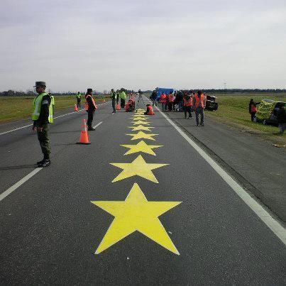"""Por el acto de las """"Estrellas Amarillas"""